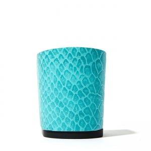 Calinan python-embossed turquoise