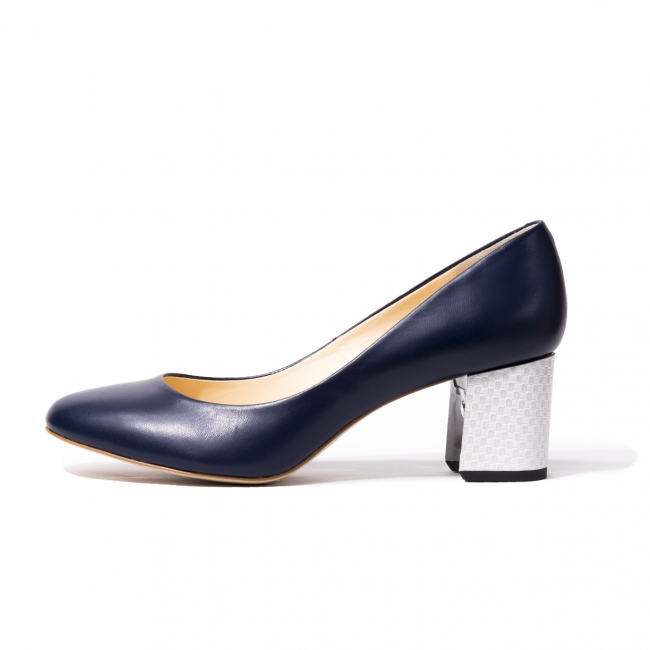VIVIEN Navy Smooth
