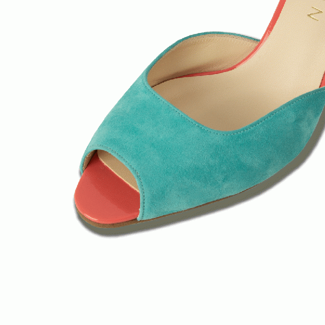 LINDA(リンダ) Mint Green Suede