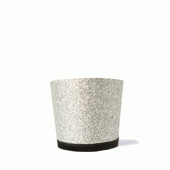 【4.5cmヒール】 Noor(ヌール) Glitter Silver